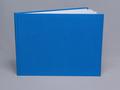 123-Υφασμάτινο (γάζα) μπλε σχολικό