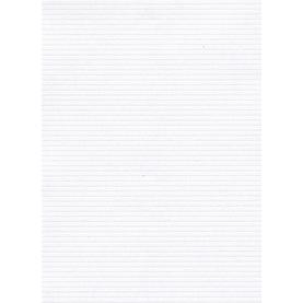 291-Λευκό ειδικό χαρτί με παράλληλες γραμμές
